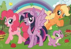 Игры Мой маленький пони: пазл