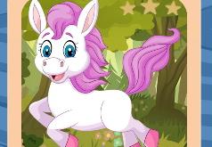 Игра Лошади и пони: пазлы