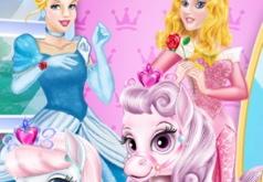 Игра Пони принцесс Диснея в салоне красоты