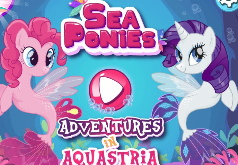 игры для девочек пони русалки