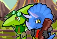 Игра Приключение Двух Динозавров 3