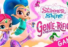 Игра Шиммер и Шайн: создай джина