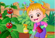 Игры Огород малышки Хейзел