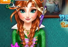 Игра Холодное Сердце Прически для Анны