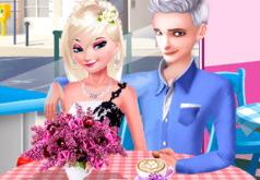 Игра Романтическое свидание Эльзы и Джека