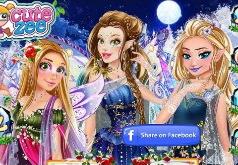 игры для девочек одевалки фей принцесс русалок