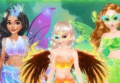 игры для девочек создай свою фею в стиле дисней