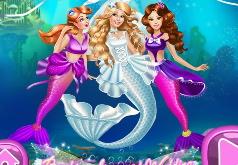 игры для девочек русалочка свадьба