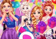 Игра Вечеринка на день рождения Барби