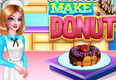 Игра Готовим с принцессой пончики