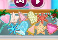 игры рождественское сахарное печенье