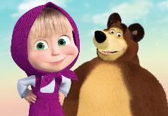 Игра Маша и Медведь: день прыжков