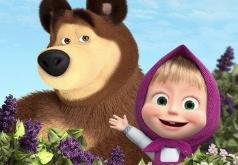 игры для детей раскраски маша и медведь