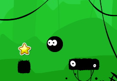 игра черный мячик