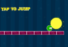 игра приключения зеленого шара