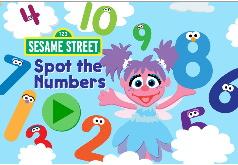 Игра Для детей 2-3 лет: поиск цифр
