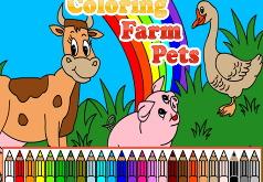 Игра Раскраска для детей 1 года