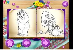 Игра Раскраски для девочек 2 лет