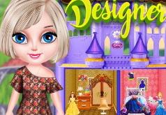 Игра Кукольный домик для малышки Эльзы