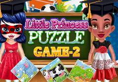 Игра Развивающие пазлы и раскраски для девочек