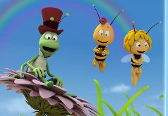 Игра Пчелка Майя: пазлы