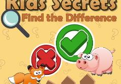 Игра Поиск отличий на детских картинках