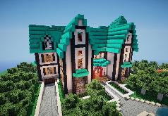 Игра Построй дом в Майнкрафте
