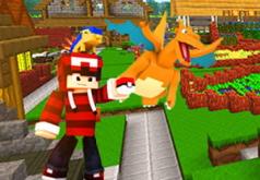 Игра Лего Майнкрафт деревня