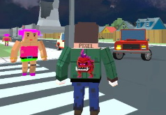 Игра Майнкрафт город