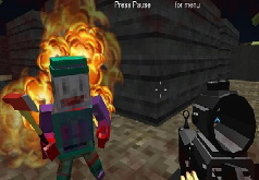 Игра Майнкрафт: выживание в блочном апокалипсисе 6