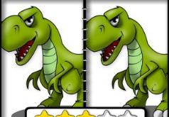 Игра Динозавры: поиск отличий