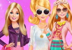 Игра Одевалка Барби На Прогулке