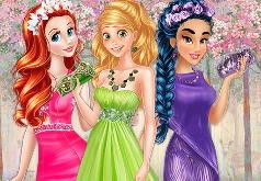 Игра Модная коллекция выпускных платьев от принцесс