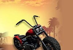 Игра Мотоциклы ГТА: пазлы