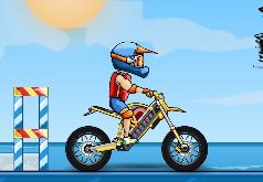 Игра Moto X3M: Вечеринка у Бассейна