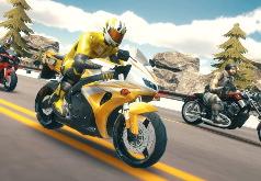 Игра Мотогонки по автостраде