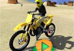 Игра Трюки на мотоцикле на пляже