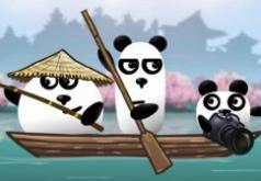 3 панды в японии флеш игра
