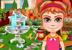 Игра Уборка в саду: Финальный штрих