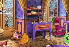 Игра Уборка в доме принцессы