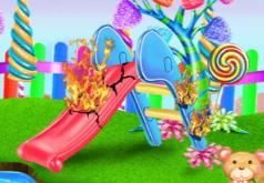 Игра Уборка конфетного парка