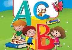 паровозик азбука игра