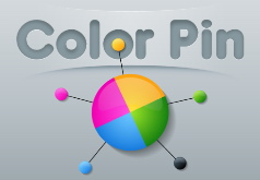 Игра Цветные булавки