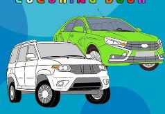 Игры Раскраски про русские машины
