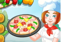 Игра Уличная пиццерия