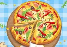Игры повар пиццы