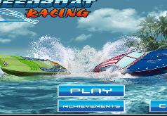 Игра Гонка на моторной лодке