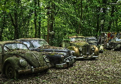игры кладбище старых автомобилей