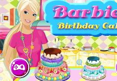 Игра Барби торт