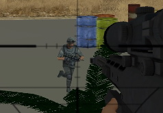 Игра Стрелялки снайпер: Зачистка города от врагов
